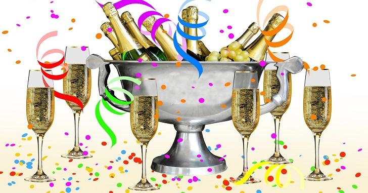 シャンパンとスパークリングの味の違いは?選び方についても
